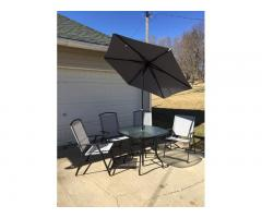 Complete Patio Dining Set, 6 Pieces