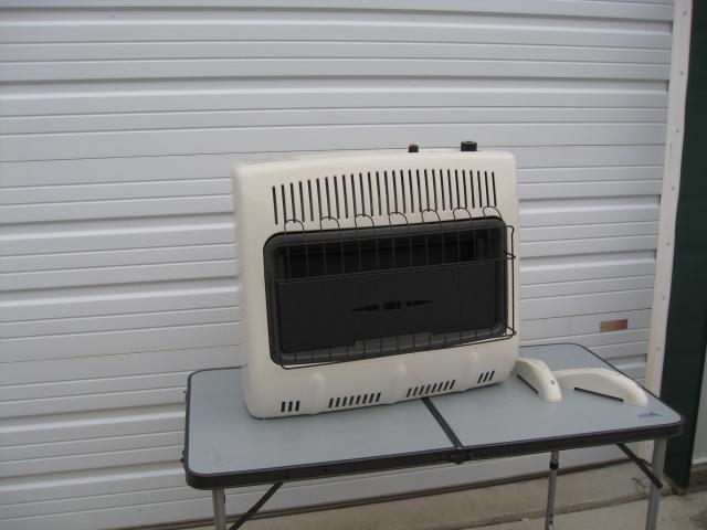 Mr Heater Natural Gas Garage Heater 30 000 Btus Crown Liquidators