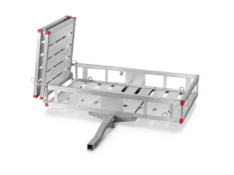 Aluminum Cargo Carrier with Ramp, 60