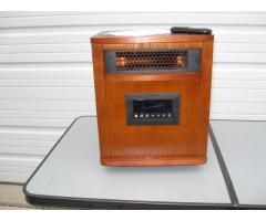 Lifesmart Infrared Heater, Oak