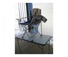 Outdoor Life Oversized Quad Camping Chair